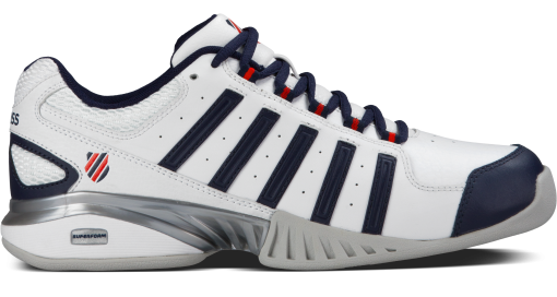 k-swiss receiver iii tapijt tennisschoenen heren - rackets2support