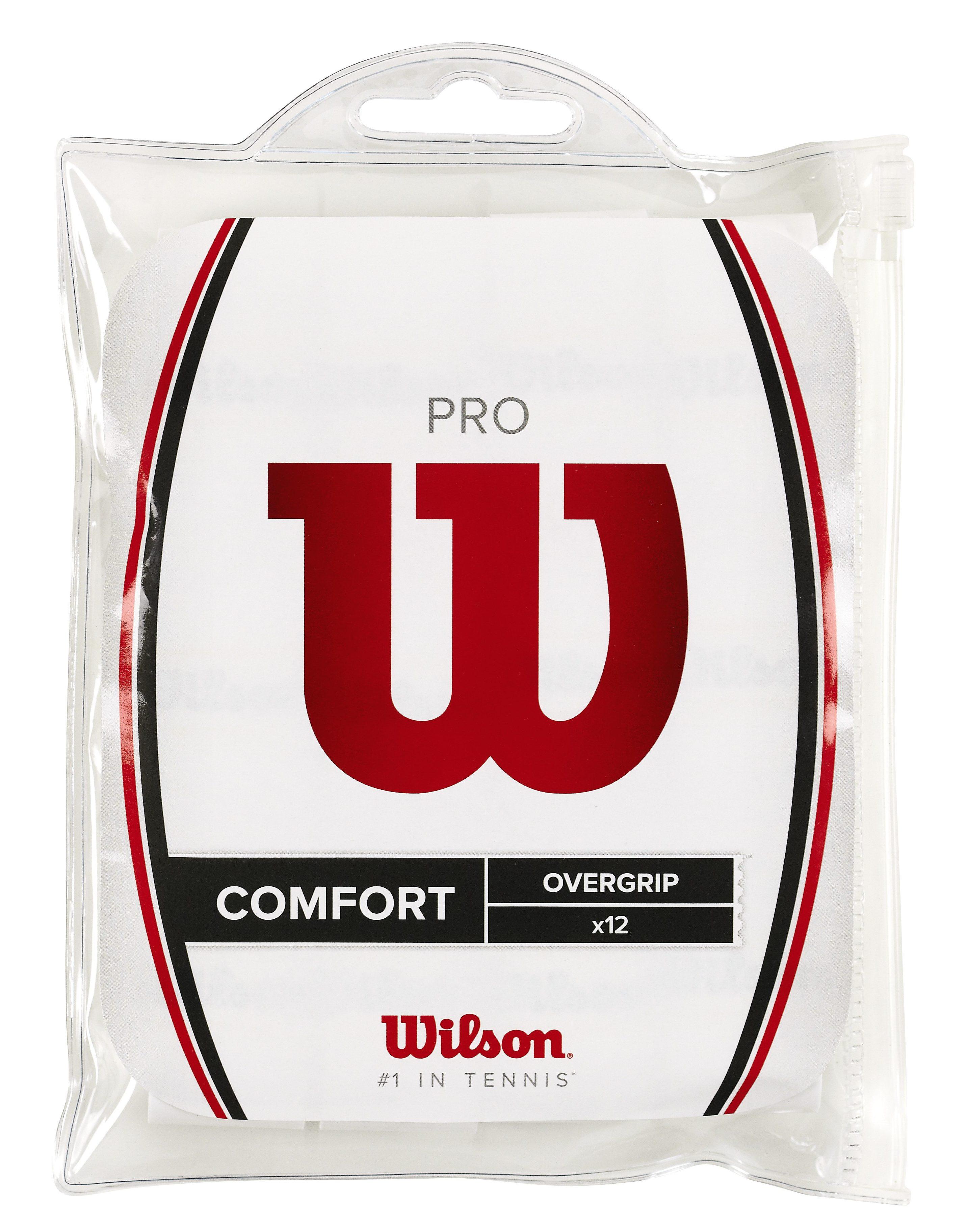 Wilson Pro overgrip wit (12 stuks)