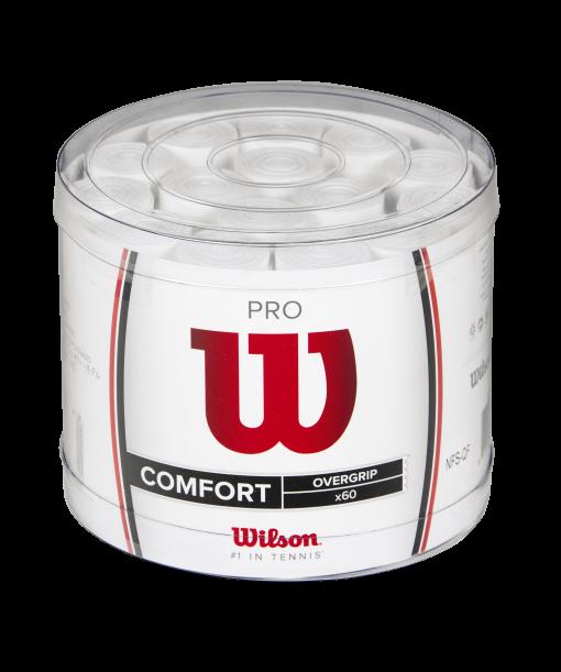 Wilson Pro overgrip (60 stuks) wit