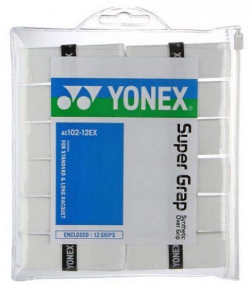 Yonex Super Grap 12 Stuks Wit