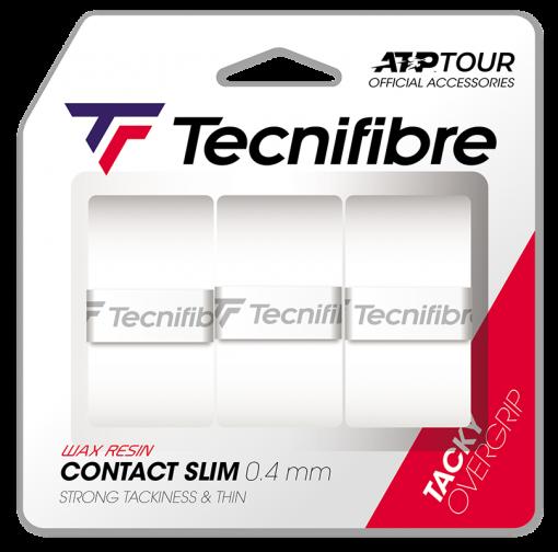 Tecnifibre Contact Slim (3stuks) Wit 0.4 mm